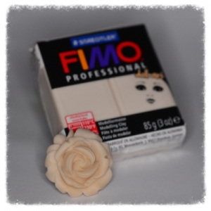 Kostka 85g - Fimo Professional Doll Art- 44 - beżowy FPDA44