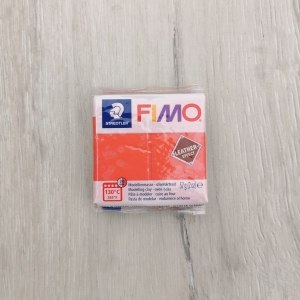 Kostka 57g - Fimo Leather - 249 - melon - FL249