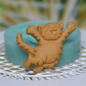 Foremka do modeliny - Happy cat - 629